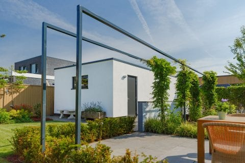 Klantreview: tuinaanleg in Almelo bij dhr. en mevr. ter Braake