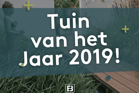 Hoera! Wij zijn winnaar van de publieksprijs 'Tuin van het Jaar 2019!'