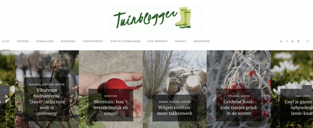 Tuinblog met tuininspiratie Tuinblogger