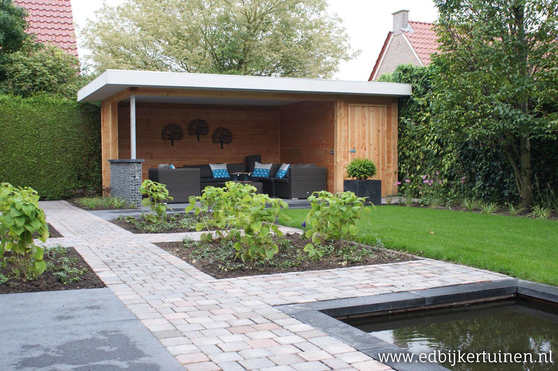 Losse Overkapping Tuin : Tuin met overkapping achtertuin met overkapping tjeerd van netten